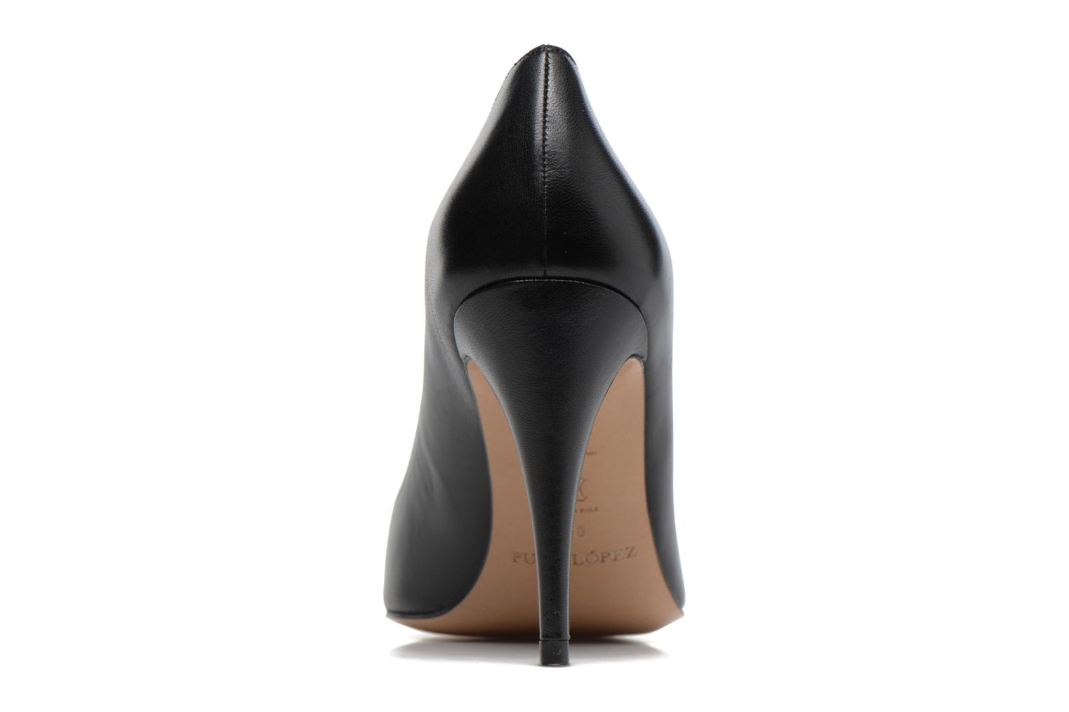 High heels Pura Lopez ZAAK117 Black view from the right