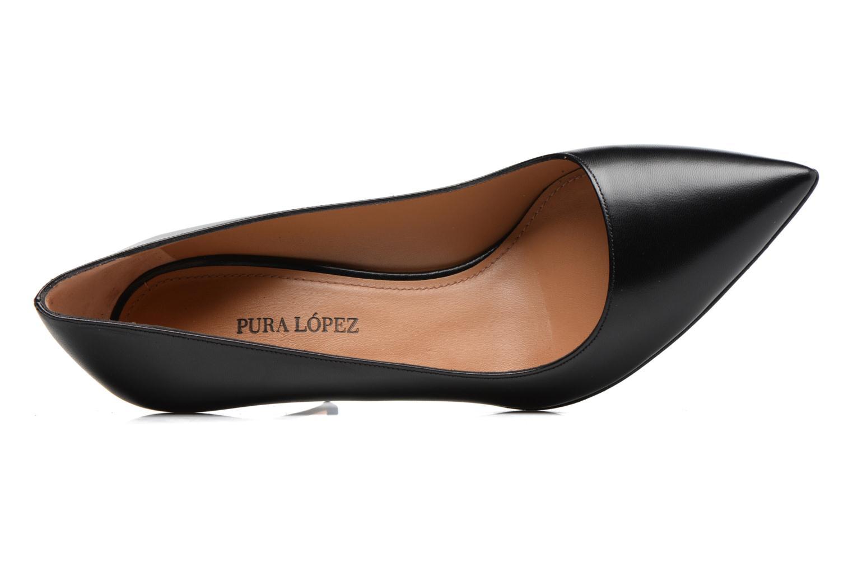 Zapatos de tacón Pura Lopez ZAAK117 Negro vista lateral izquierda