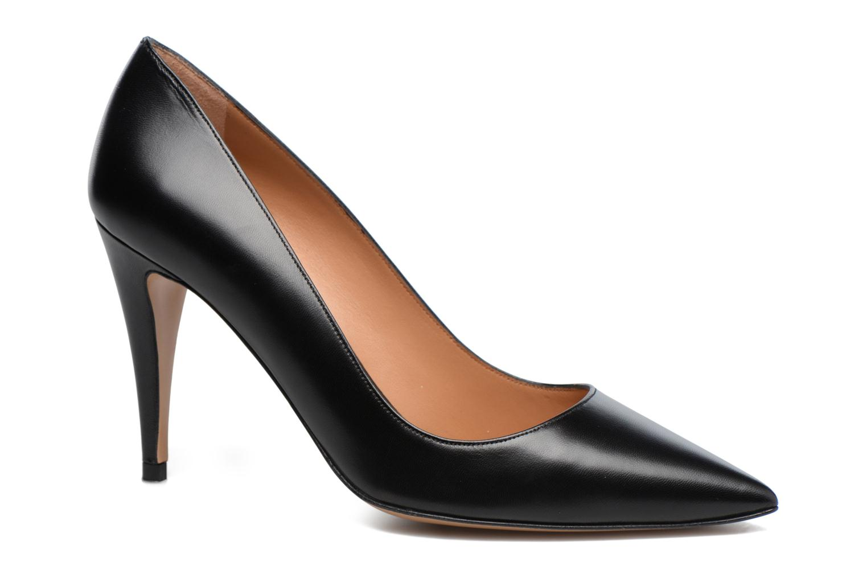 High heels Pura Lopez ZAAK117 Black detailed view/ Pair view