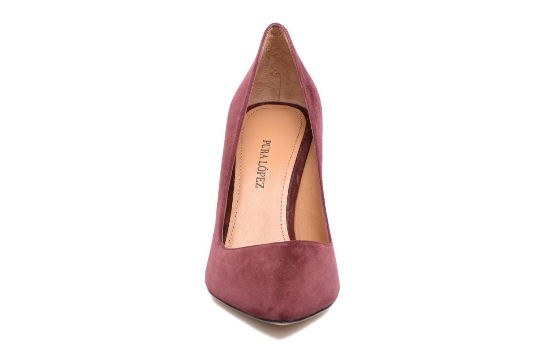 High heels Pura Lopez ZAAK117 Red model view