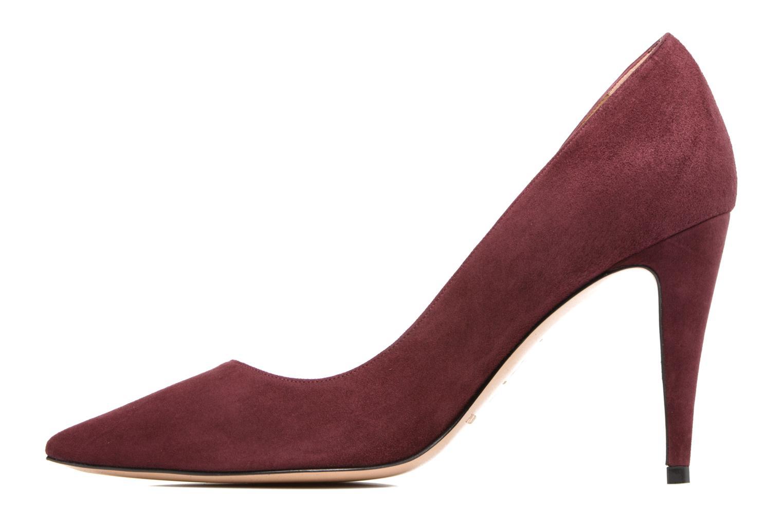 High heels Pura Lopez ZAAK117 Red front view