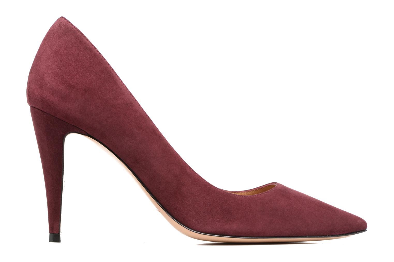 High heels Pura Lopez ZAAK117 Red back view