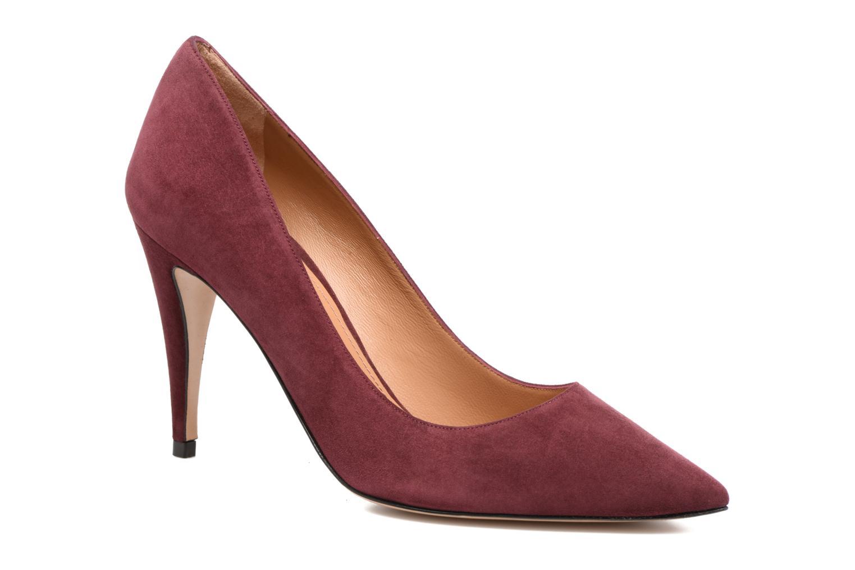 High heels Pura Lopez ZAAK117 Red detailed view/ Pair view