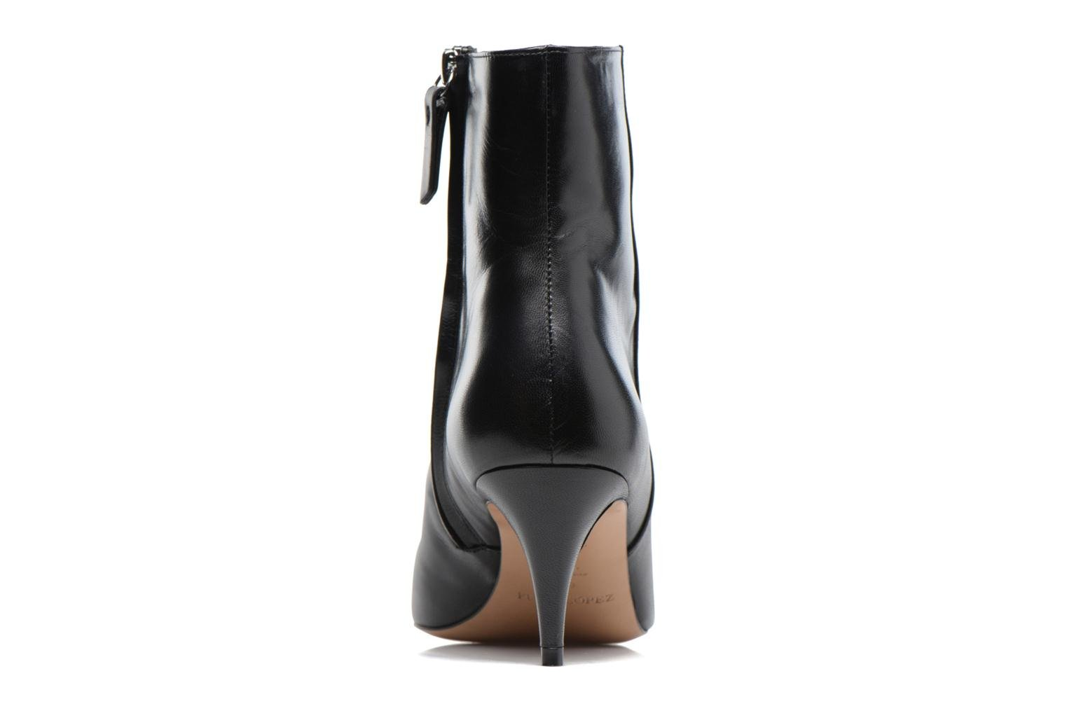 Ankle boots Pura Lopez BNAL187 Black view from the right