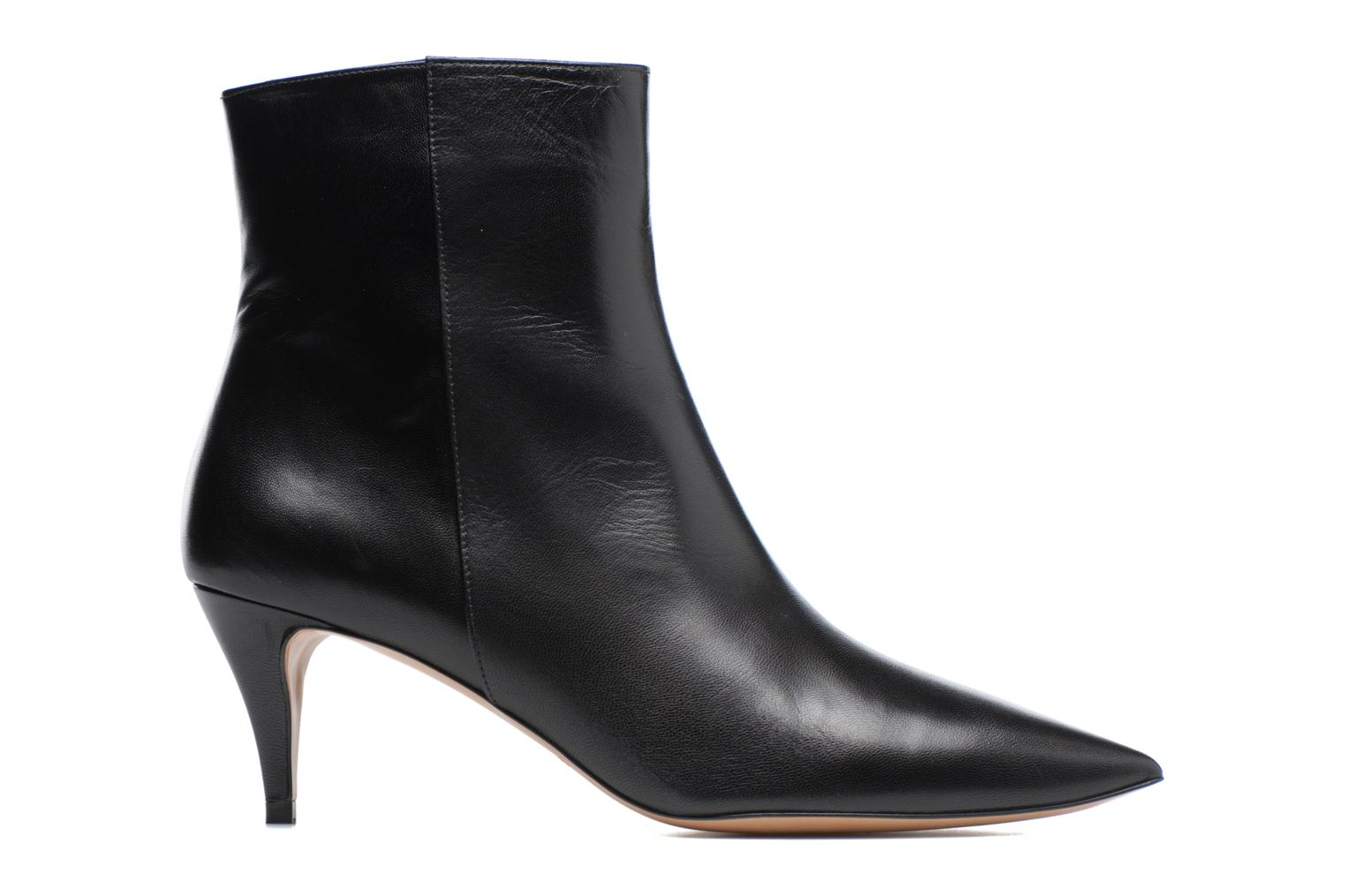 Ankle boots Pura Lopez BNAL187 Red back view