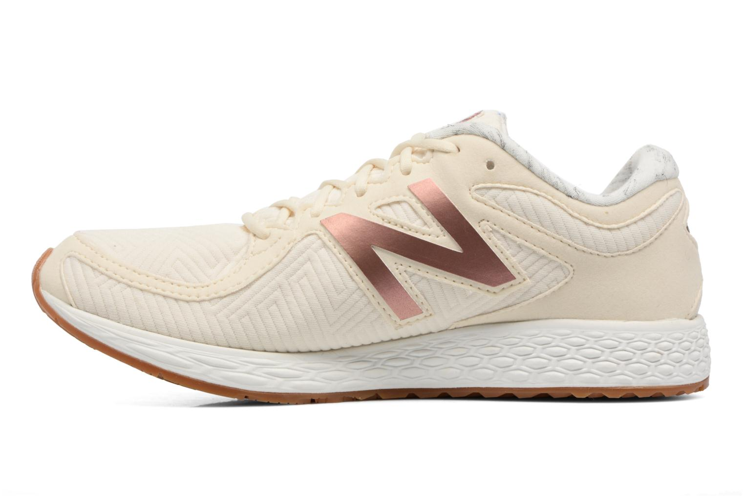 Baskets New Balance WLZANT B Blanc vue face