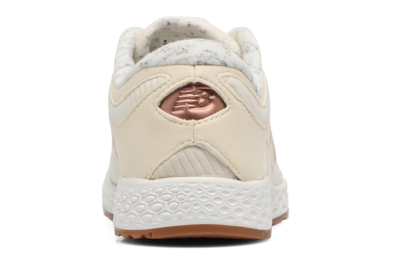 Sneakers New Balance WLZANT B Wit rechts