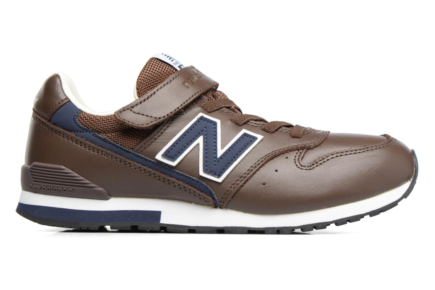 Baskets New Balance KV996 M Marron vue derrière