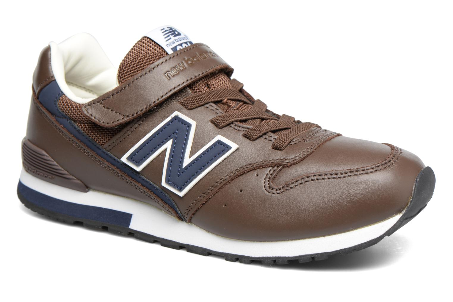 Baskets New Balance KV996 M Marron vue détail/paire