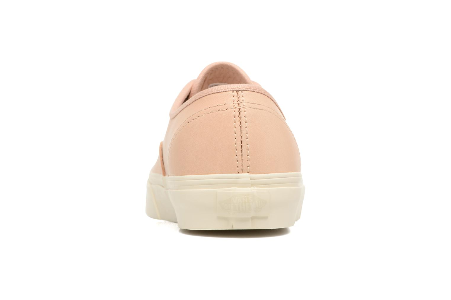 Baskets Vans Authentic DX Rose vue droite