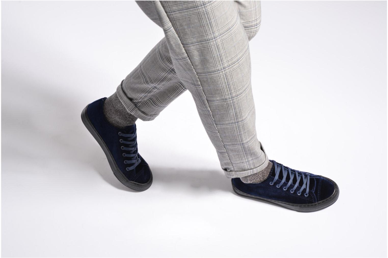Baskets I Love Shoes THYSAL Bleu vue bas / vue portée sac