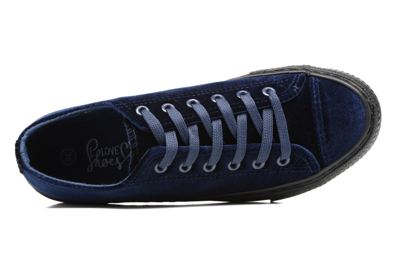 Sneaker I Love Shoes THYSAL blau ansicht von links