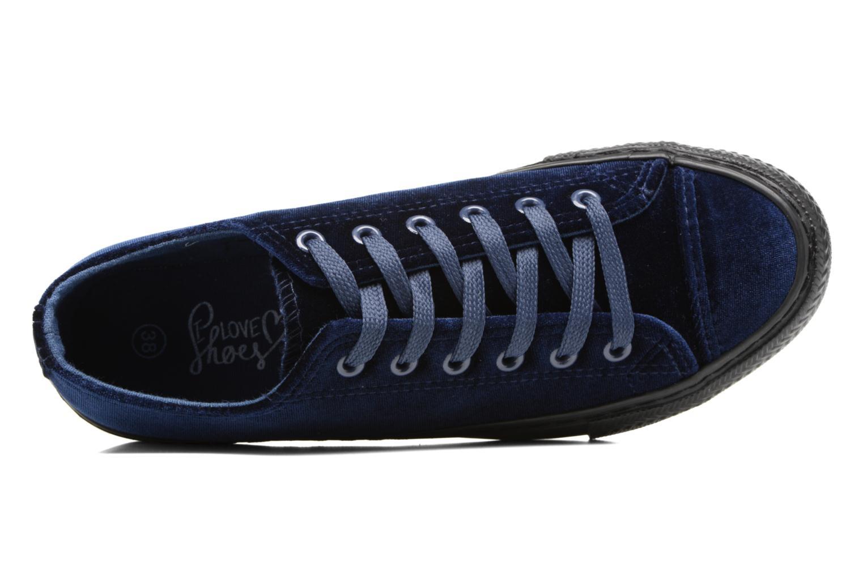 Sneakers I Love Shoes THYSAL Blå se fra venstre
