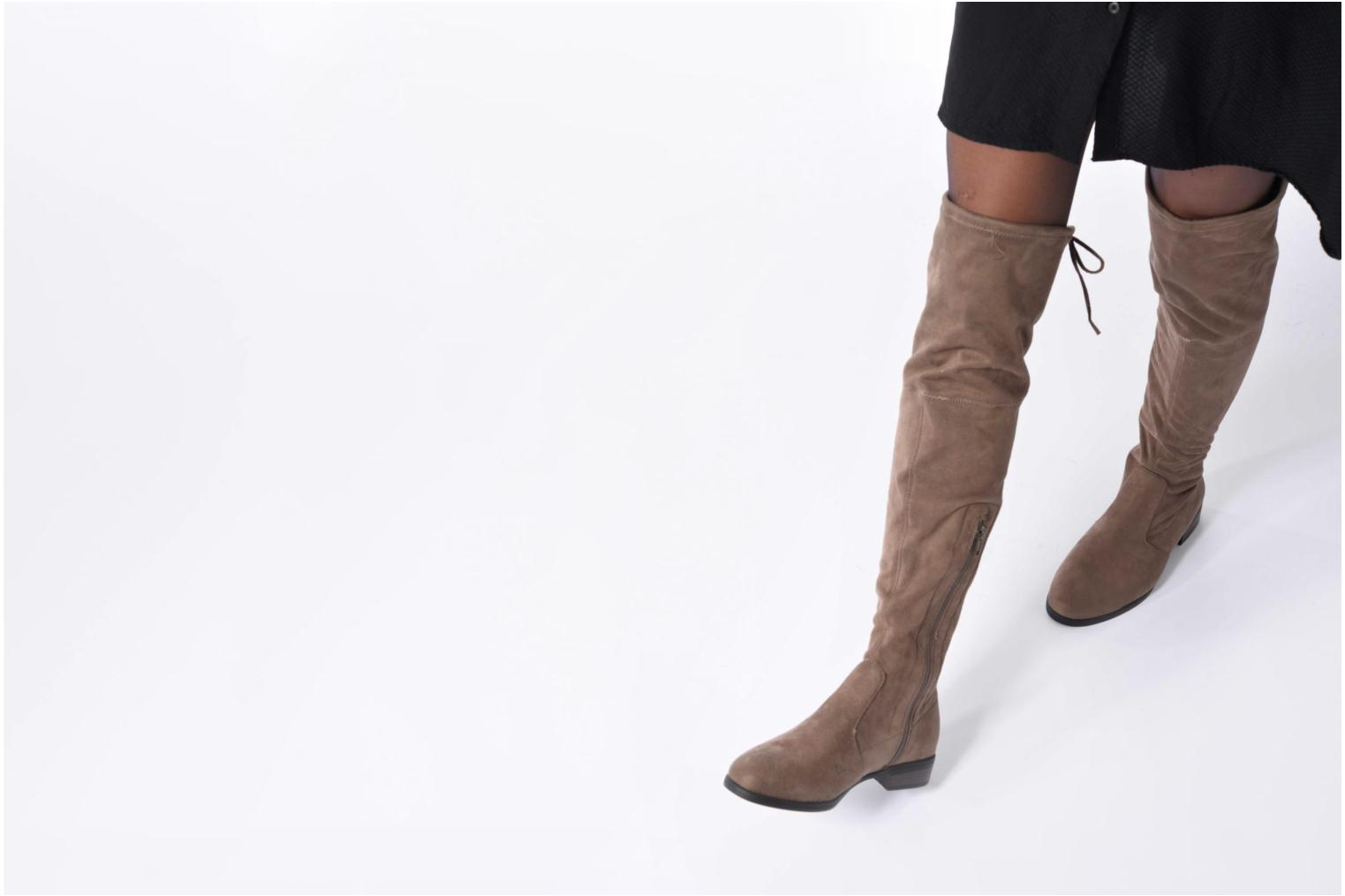 Boots & wellies I Love Shoes THALMA Brown view from underneath / model view