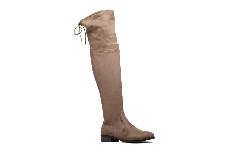 Bottes I Love Shoes THALMA Marron vue détail/paire