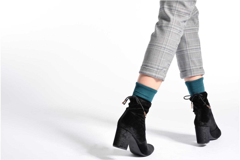 Stiefeletten & Boots I Love Shoes THRESSY weinrot ansicht von unten / tasche getragen