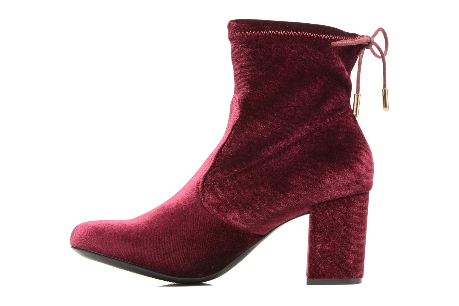 Boots en enkellaarsjes I Love Shoes THRESSY Bordeaux voorkant