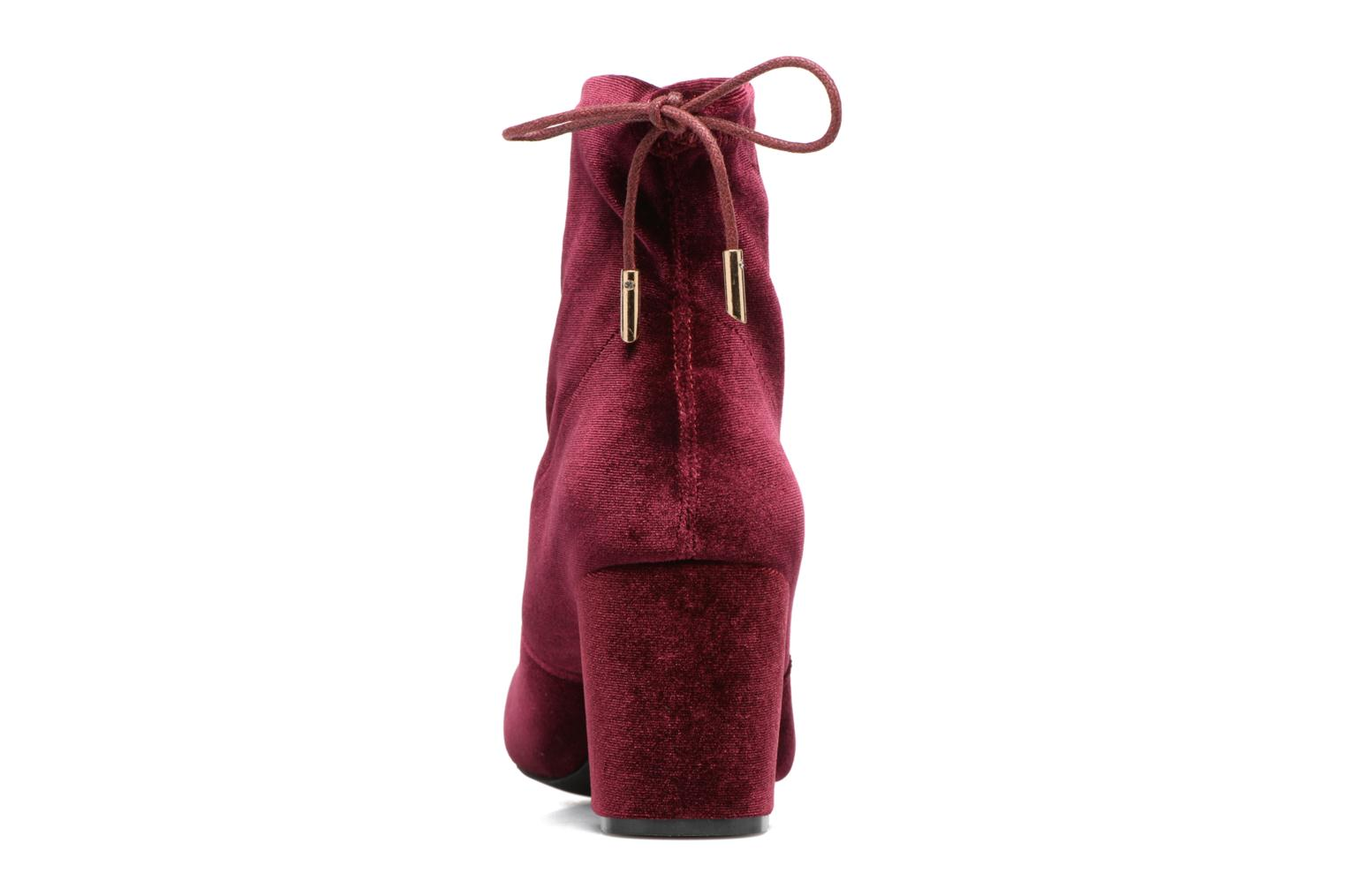 Boots en enkellaarsjes I Love Shoes THRESSY Bordeaux rechts