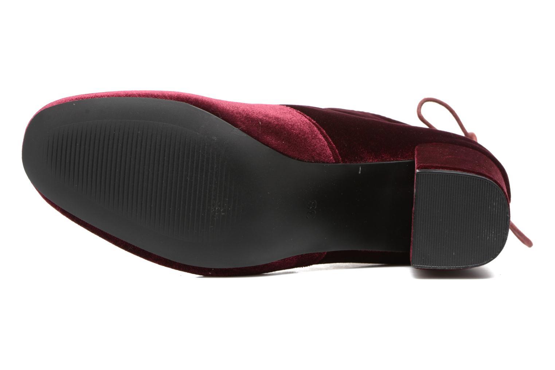 Botines  I Love Shoes THRESSY Vino vista de arriba