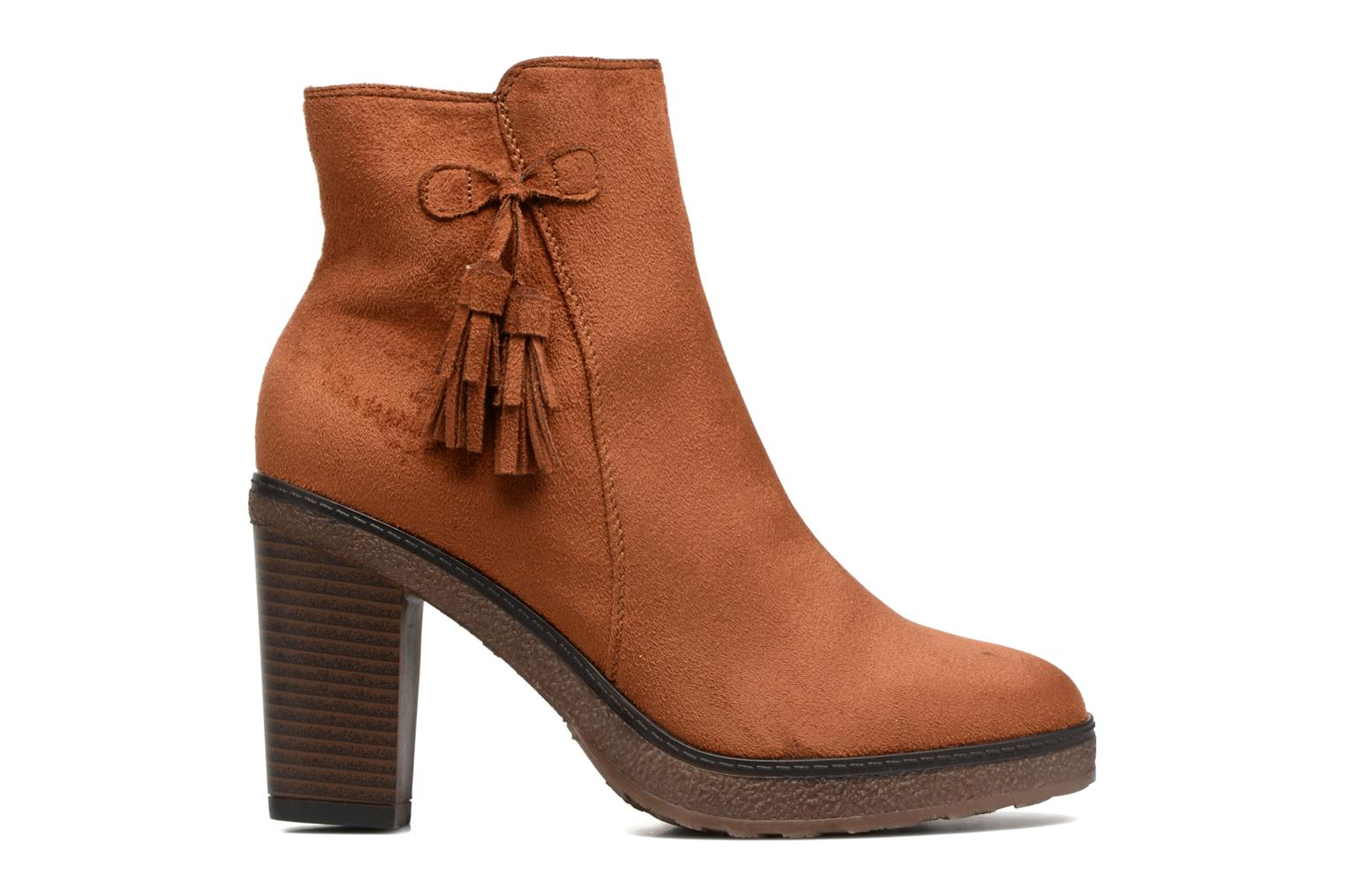 Ankle boots I Love Shoes THALUS Brown back view