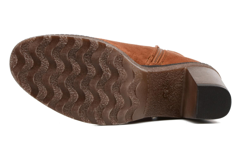 Boots en enkellaarsjes I Love Shoes THALUS Bruin boven