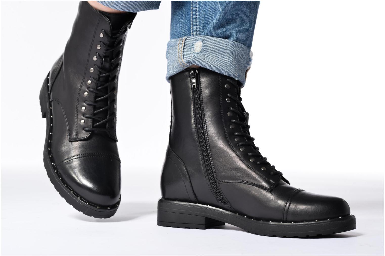 Botines  I Love Shoes THALITA Negro vista de abajo