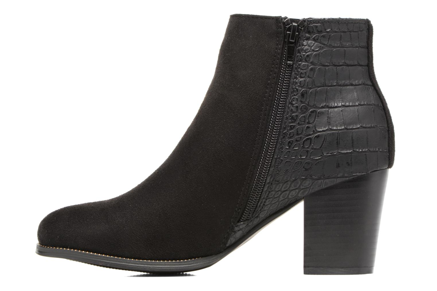 Ankle boots I Love Shoes Thucie Black front view