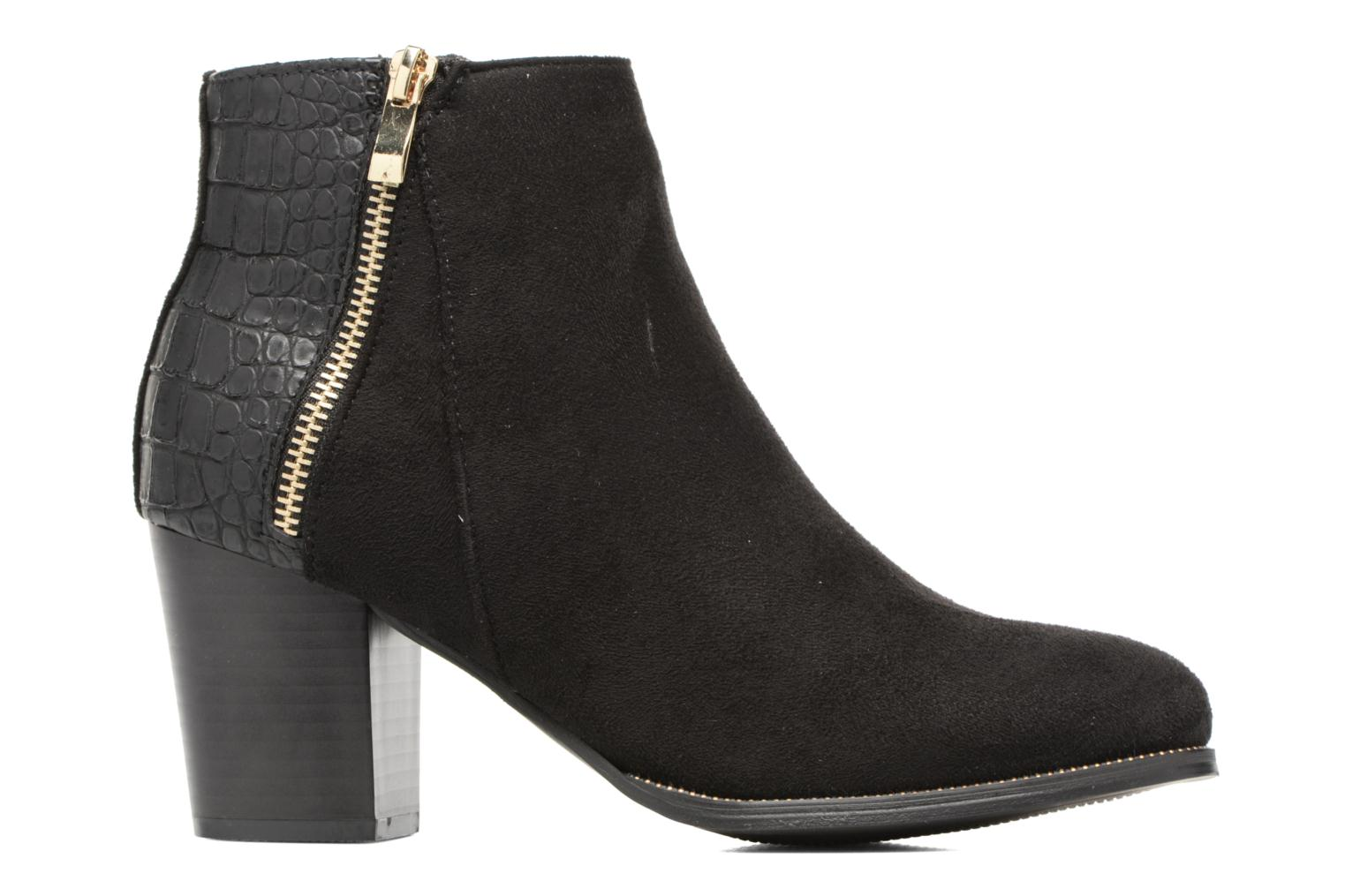 Ankle boots I Love Shoes Thucie Black back view