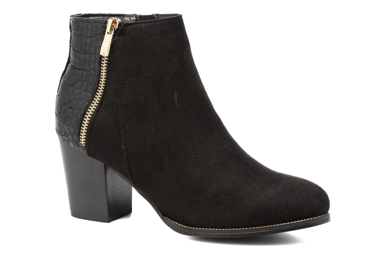 Ankle boots I Love Shoes Thucie Black detailed view/ Pair view