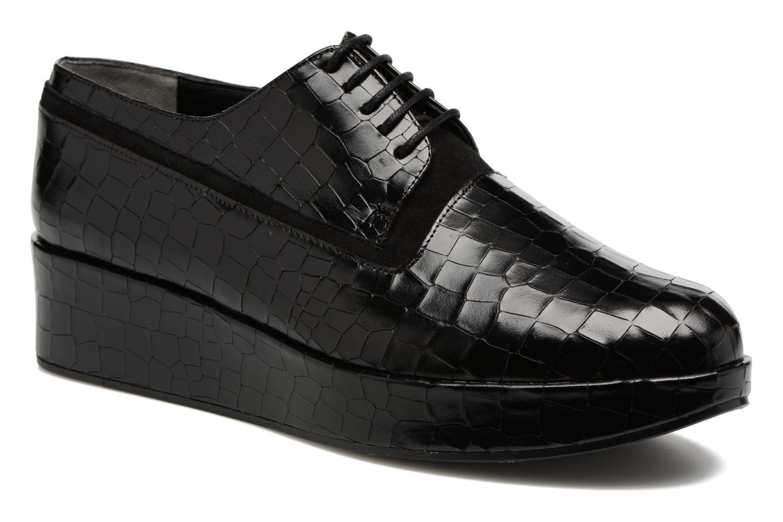 Grandes descuentos últimos zapatos Clergerie Niamey (Negro) - Zapatos con cordones Descuento