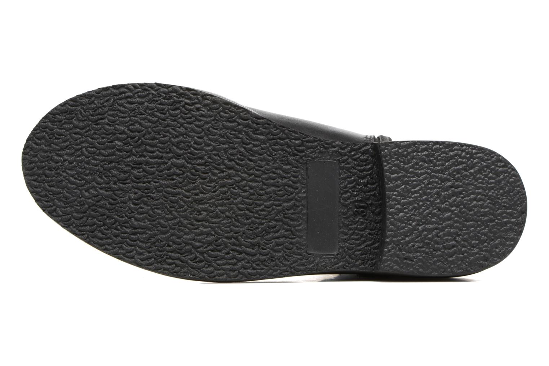 Bottines et boots I Love Shoes SYBILLE LEATHER Noir vue haut