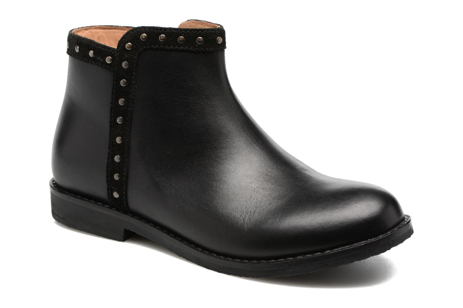 SYBILLE LEATHER Black