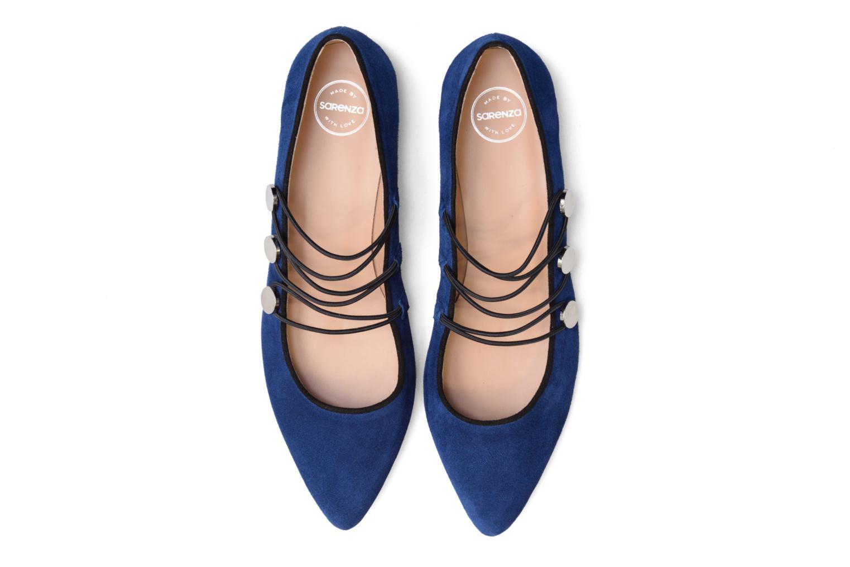 Ballerines Made by SARENZA Legit Legion #2 Bleu vue portées chaussures