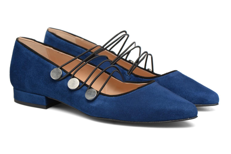 Ballet pumps Made by SARENZA Legit Legion #2 Blue back view