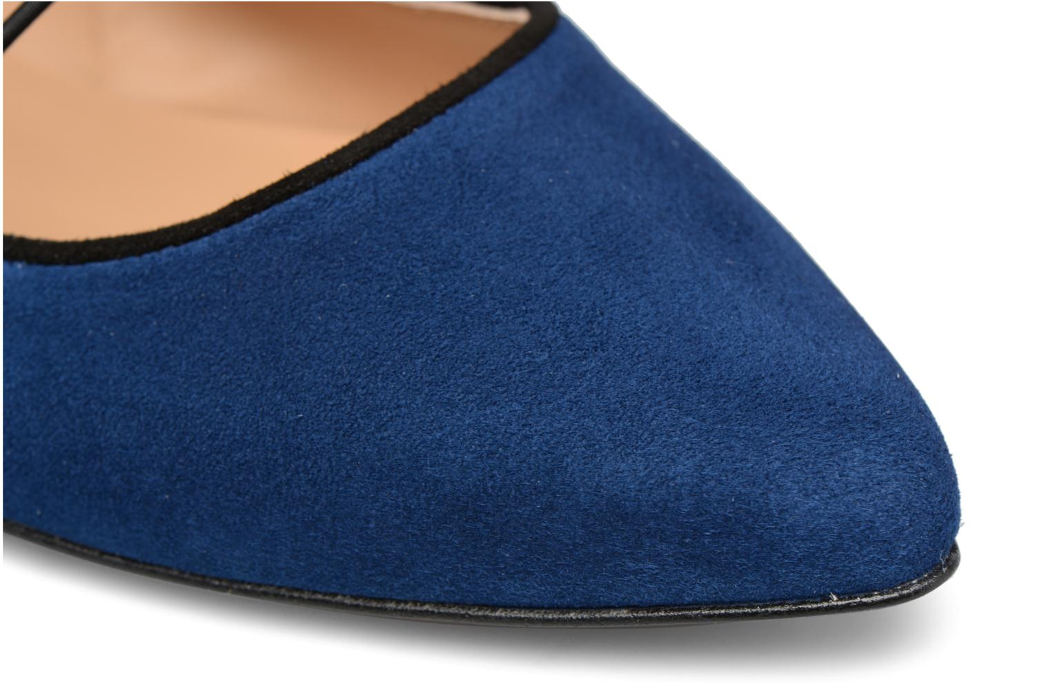 Ballet pumps Made by SARENZA Legit Legion #2 Blue view from the left