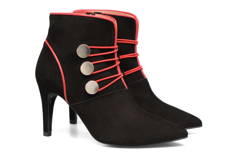 Bottines et boots Made by SARENZA Boots Camp #9 Noir vue derrière