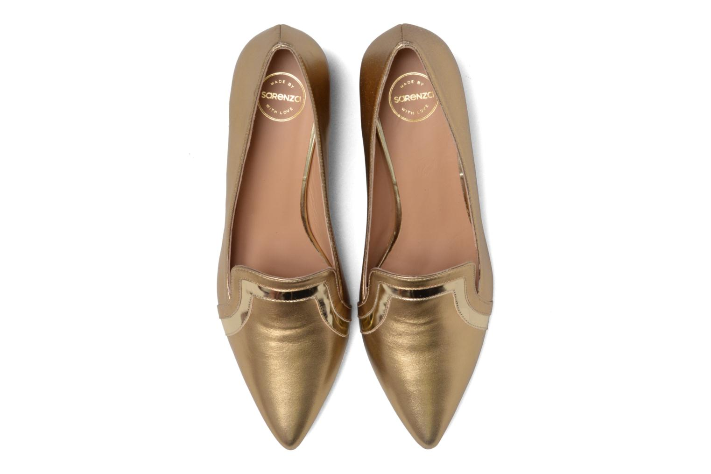 Escarpins Made by SARENZA Shoe Officer #1 Or et bronze vue portées chaussures