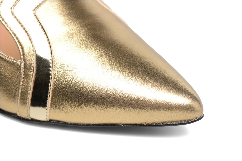 Shoe Officer #1 Métalisé Doré