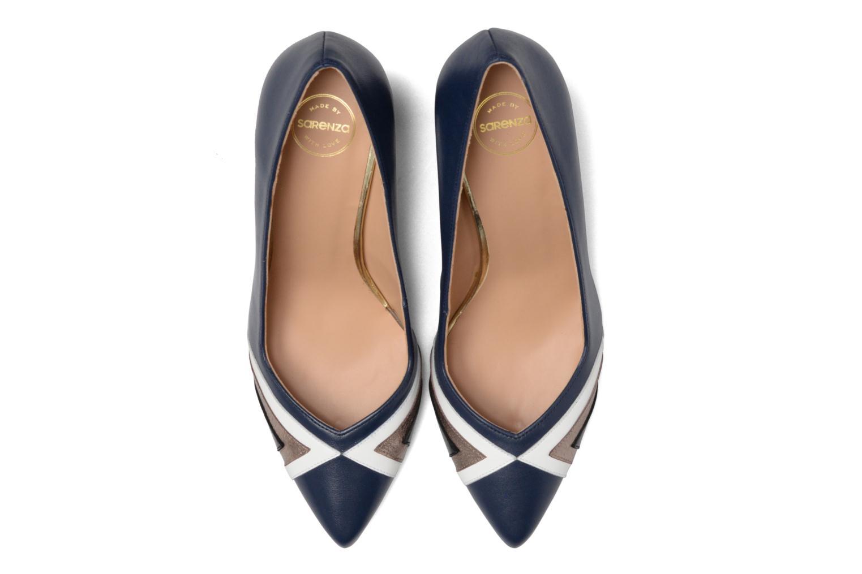 Escarpins Made by SARENZA Snow Disco #6 Bleu vue portées chaussures
