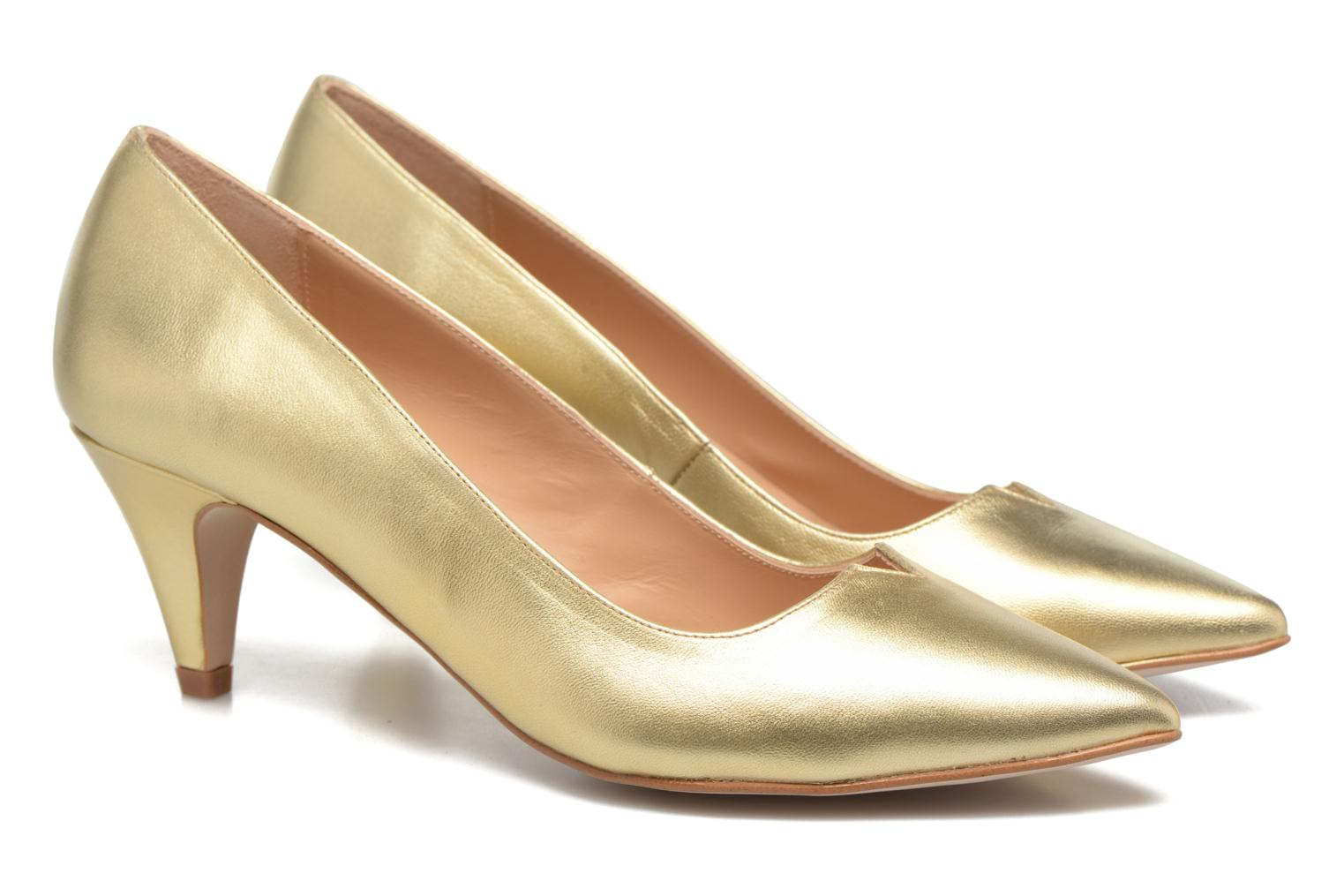 Pumps Made by SARENZA 90's Girls Gang Escarpins #11 gold/bronze ansicht von hinten