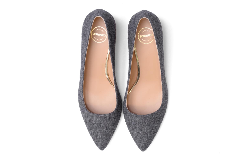 Escarpins Made by SARENZA Snow Disco #8 Gris vue portées chaussures
