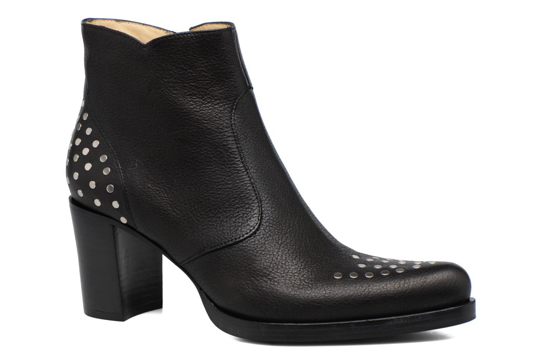 Paddy 7 Zip boot rivet Brado Noir