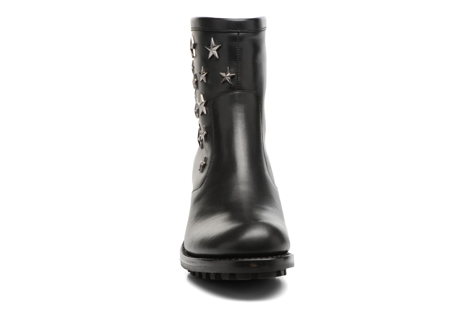 Biker 7 Zip Boot Star Lubbock Noir