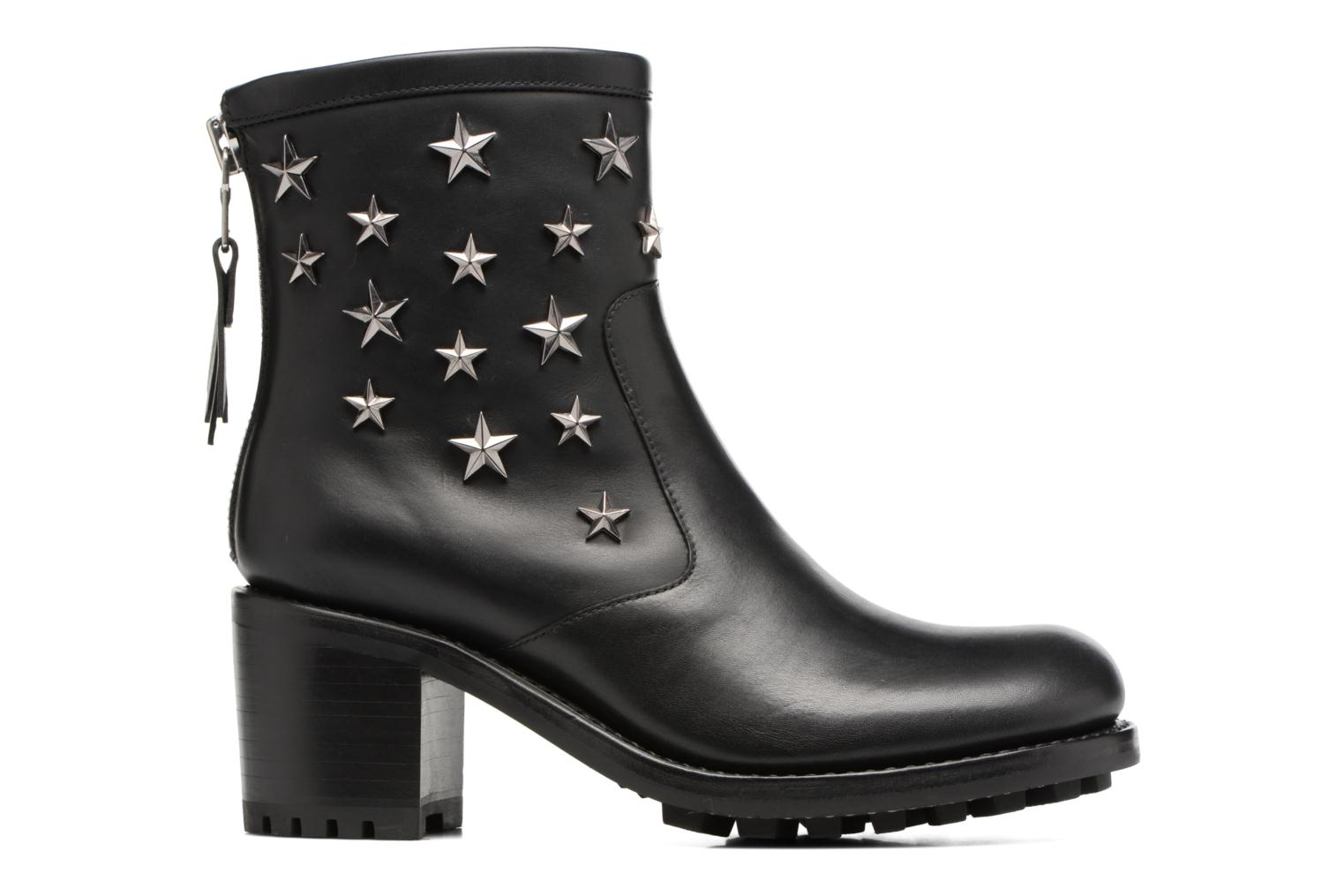 Ankle boots Free Lance Biker 7 Zip Boot Star Black back view