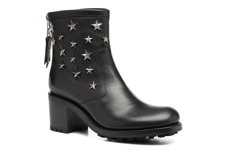 Biker 7 Zip Boot Star Lubbock Noir