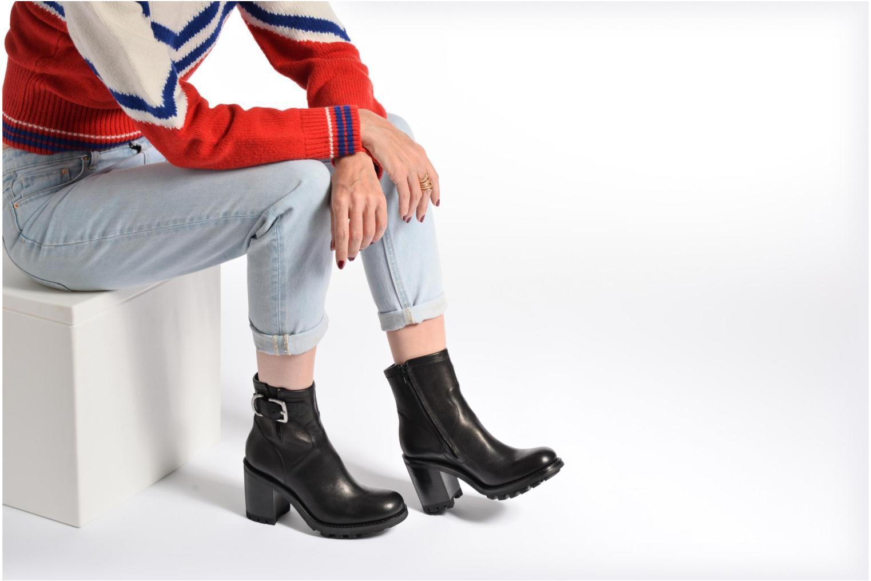 Bottines et boots Free Lance Justy 9 Small Gero Buckle Noir vue bas / vue portée sac