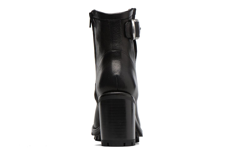 Bottines et boots Free Lance Justy 9 Small Gero Buckle Noir vue droite
