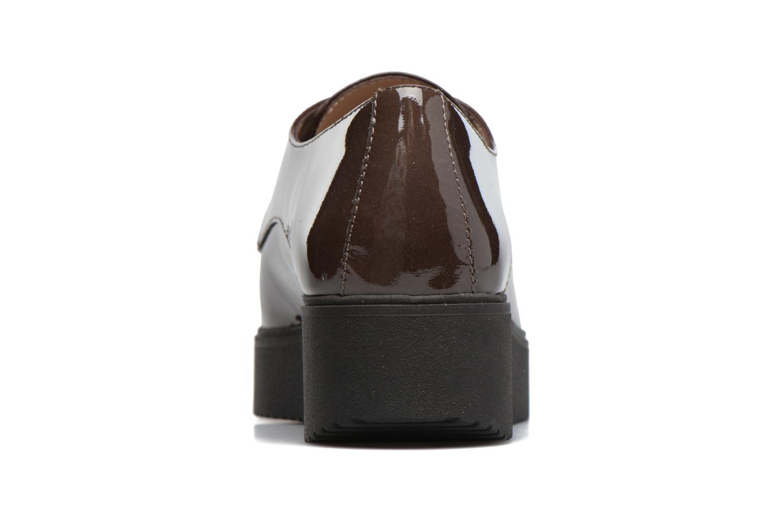 Chaussures à lacets Unisa Caler Marron vue droite