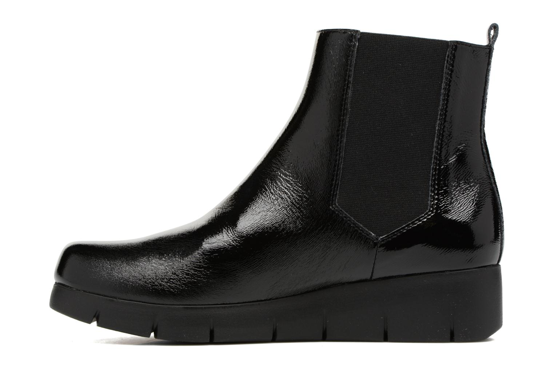 Bottines et boots Unisa Flora Noir vue face