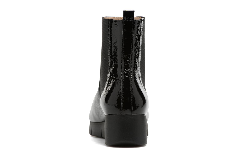 Bottines et boots Unisa Flora Noir vue droite
